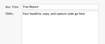 Adding TrafficWave.net AutoResponder code via FBML