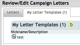 Create New AutoResponder Letter