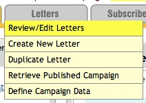 Review or Edit TrafficWave.net Letters
